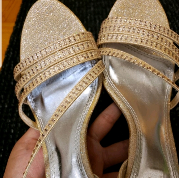 k&m Shoes - Bedazzled strappy sandal